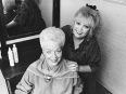 ave-bonar-photography-ann-richards-with-her-hairdresser-gail-1990-campaign-for-texas-governor