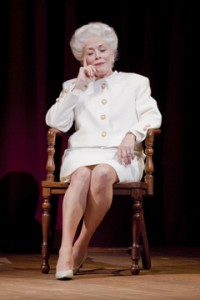 Holland Taylor, Ann Richards, Broadway play